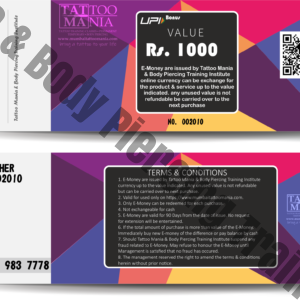 E-Money Voucher Rs. 1000