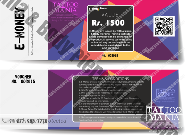 E-Money Voucher Rs. 1500
