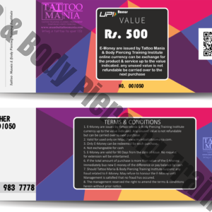 E-Money Voucher Rs. 500